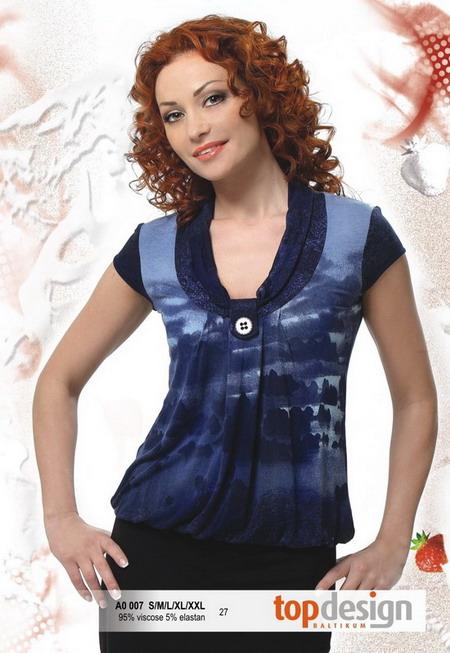 Блузки Из Тонкого Трикотажа В Интернет Магазине Из Прибалтики